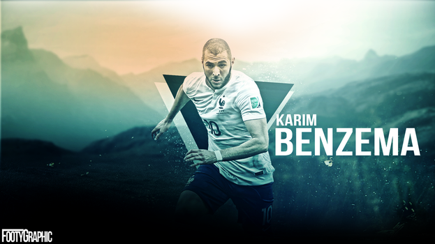 Benzema by Footygraphic