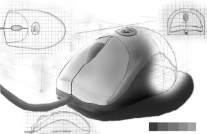 Logitec Mouse by WickedAwsome