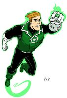 Green Lantern, Guy Gardner by dennisculver