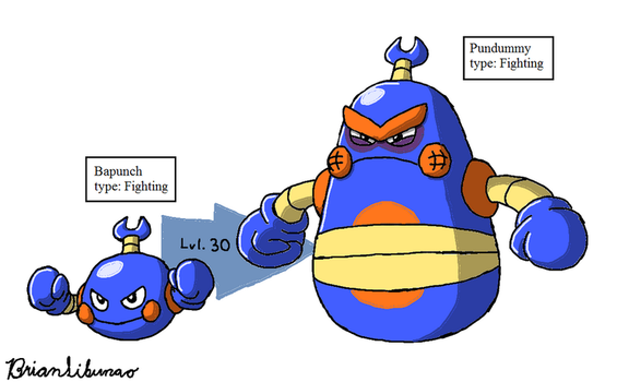 Fakemon: Punching Bags Remake by Brian12