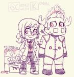 ScienceKendallSketches by dreamwatcher7