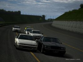 Gran turismo 4 Buick GNX Driving park #3 by Chernandez2020
