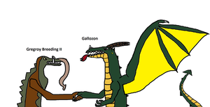 Me shaking hands with Gallozon by ProtanaArchives94