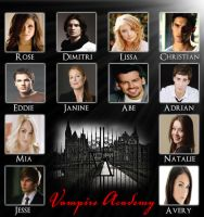 Vampire Academy Dream Cast by RoseHathaway24
