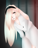 Albino 'Ghost' by Candy-Army