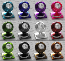 Metallic Flake Paints for VRay by Thykka