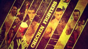 Chechen MMA fighters by CheDesign