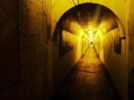 The darkness at the end of the tunnel by trickytreater