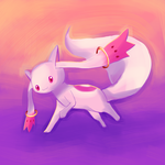 Kyubey by Garmmon