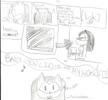 Crystal the Cat's Lover by neokasey82