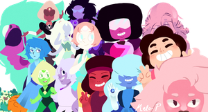 Steven's universe by MeloPearl