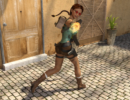 Classic Raider 65 by tombraider4ever