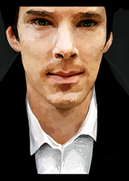 Benedict Cumberbatch by felloliette