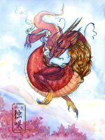 Red Dragon by Ametist-nyako