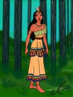 Historic Pocahontas by aniek90
