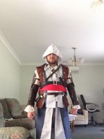 Assassin's Creed Edward Kenway Cosplay WIP: 1 by FFiamgoku