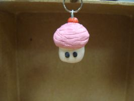 cup cake charm by inupuppy1412
