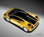 Lambo Gallardo- In Progress by iac74205