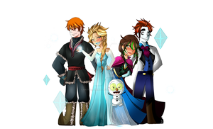 #Frozen - Scott, Crystal, Ping, Payton and Jack by NatRaingerMadafakas