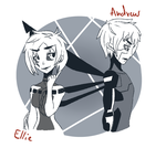 Request || Andrew and Ellie by Mysteriie