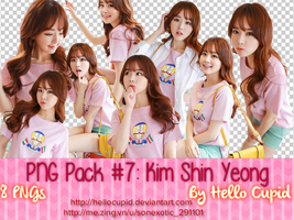 PNG Pack Kim Shin Yeong (#7)- By Hello Cupid by HelloCupid