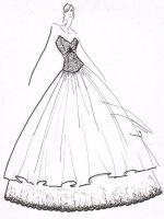 Ball Gown 04 by fasyonish