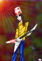 Buckethead for Rouge xD by Freaky--Panda