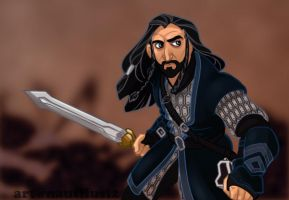 Thorin Oakenshield by NautilusL2
