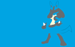 Lucario by PokeTrainerManro