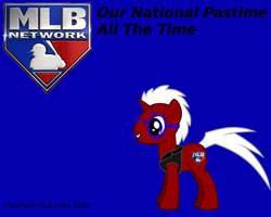 MLB Network Ponified Wallpaper by HackalotSpark