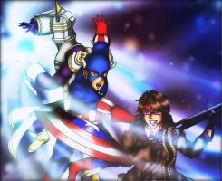 Fight Together and Bring Forth Freedom! by BlizzardCaster