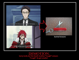 Death God (Grell Sutcliff) Demotion by KatsuNoJutsu95