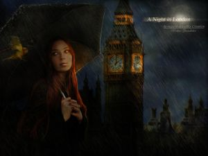 A Night in London by *Le-Regard-des-Elfes