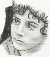 E. Wood as Frodo Baggins by TheNorthMint