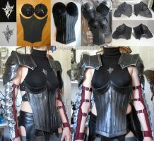 Final Fantasy Lightning Returns Chest Armor by AlysonTabbitha