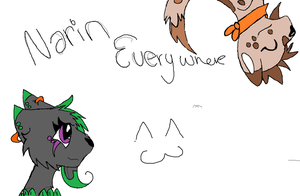 Narin Everywhere by XxBlackpantherxX
