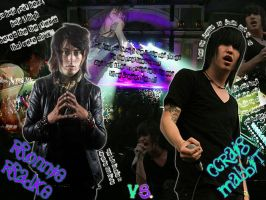Ronnie Radke vs. Craig Mabbit by yuffieninja
