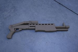 Franchi SPAS 12 Shotgun by impaler07