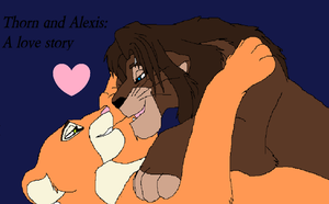 Thorn and Alexis: A love story (cover) by Aura-Q