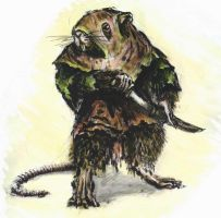 A Skaven by Mablox