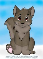Chibi Balto by arcticfox82