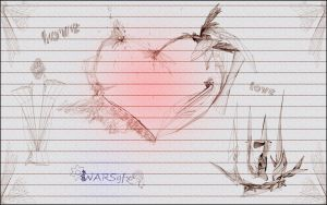 Love on Paper by WarGFX