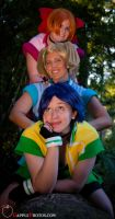 Power Puff Girls Z by cosplay-kitty