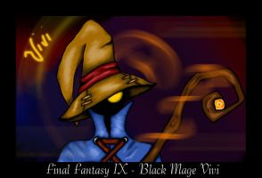 Final Fantasy IX - Vivi by Earthriseii