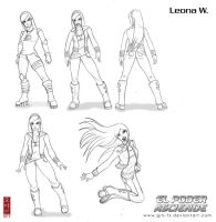 :Leona new clothes: by GRO-fx