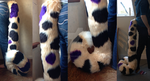 Fursuit tail - Tiro Cheetah by KitNightwing