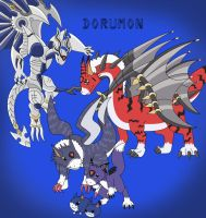Dorumon by DrentaiWolf