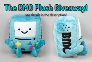 BMO Plush Giveaway -- Closed by ShoriAmeshiko