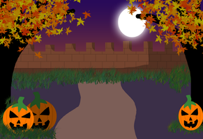 Halloween background -FREE TO USE- by AliRose-Art