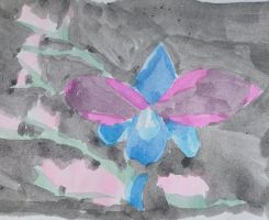Blue Orchid  by opium-luvs-blue